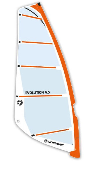 Unifiber Windsurf Sail Monofilm Freeride 6.5m2