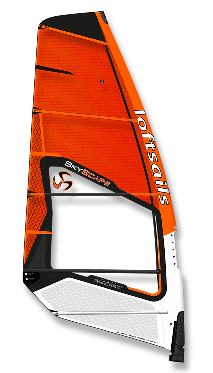 Loftsails Windsurf Sail Skyscape 2021 Orange