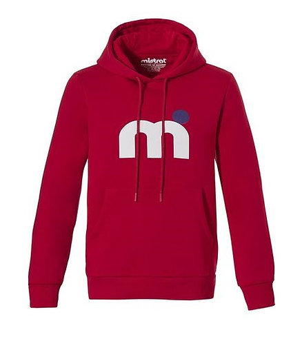 Mistral Classic Soft Touch Hoody Red