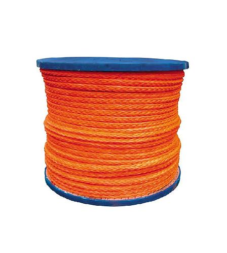 Rope D8 Dyneema 8 Strand 6mm Breaking Load 600kg (Price Per Meter)