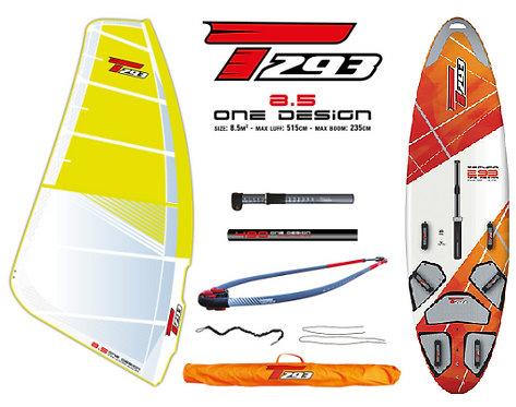 Bic Techno T293+ V2 Board One Design 8.5 Complete Set V2 Rig