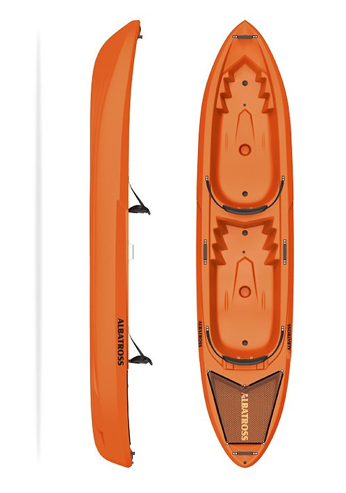 Kayak Albatross Double 360cm x 78cm x 40cm +paddle