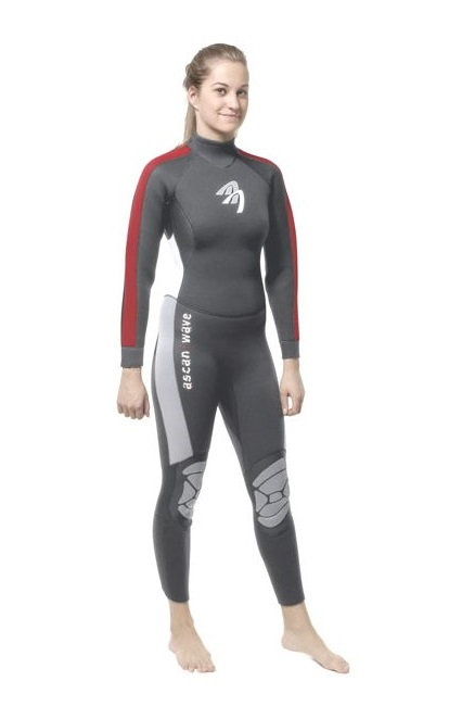 Ascan Wave Overall Wetsuit 5/3