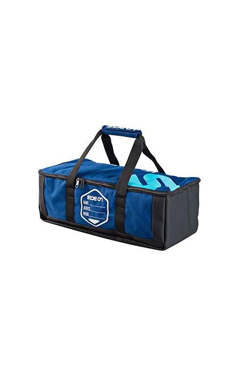 Side On Windsurf Fin Bag Blue 45cm x 20cm x 25cm