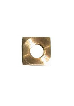 Flat Brass Nut 8M For Mast Foot Base