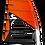 Thumbnail: Loftsails Windsurf Sail Raceboardblade 2021 Orange
