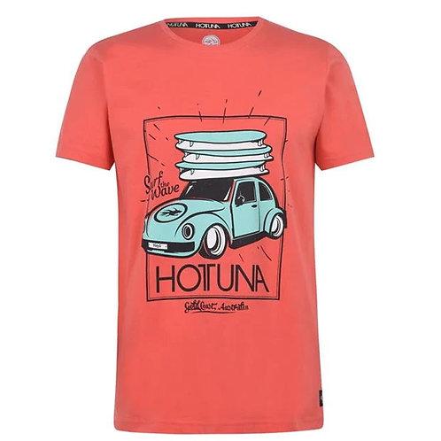 Hot Tuna Surf Car Red T Shirt
