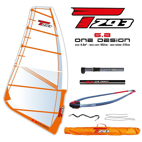 Bic Techno T293 One Design 6.8 Complete Rig