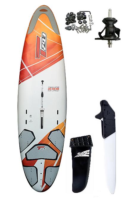 T293 One Design 205L Complete Windsurf Board - School Setup