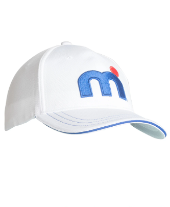Mistral Cool Dry Peaked Cap White