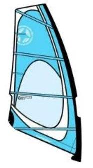 Unifiber Windsurf Sail Dacron/Mylar Experience Evo 2.0m2