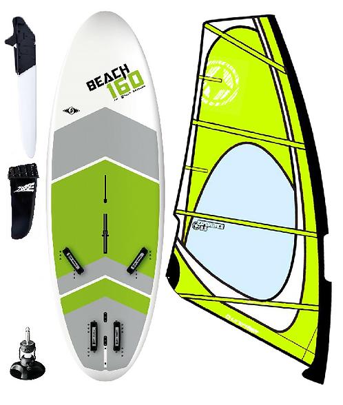 Complete T293 School Edition Windsurf Bic Board 160L & 3.5m2 Dacron/Maylar Rig