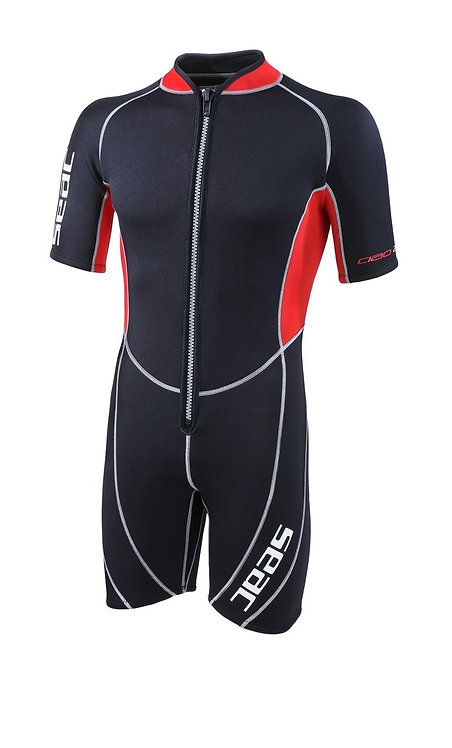 Seac Wetsuit Ciao Shorty Man 2.5 mm Front Zip