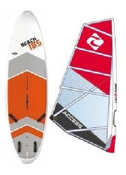 Complete School Windsurf Bic Board 185L & Access Monofilm Rig