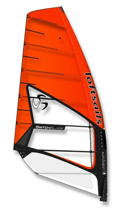 Loftsails Switchblade Orange 2020 9.5m2