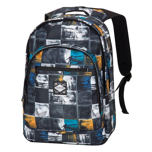 Hot Tuna Surf Print Back Pack 46cm, W: 35cm, D: 16cm