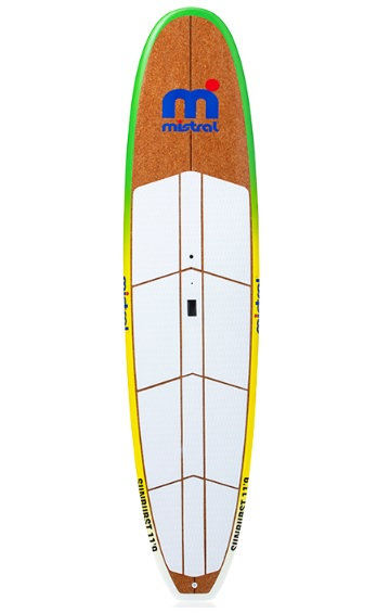 Mistral Sunburst SUP & WindSUP Board - Wood 11'9'' mod.2020