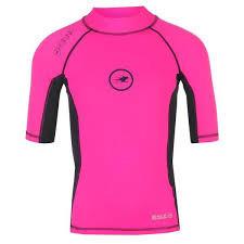 Hot Tuna Rashguard Short Sleeve Junior Pink