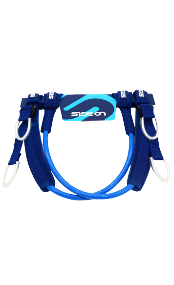 Side On Harness Lines Adjustable Blue 22''/28'' & 26''/32''