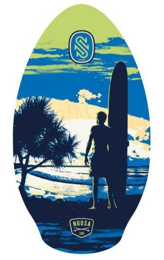 SkimOne Skimboard 39 100cm Noosa blue lime