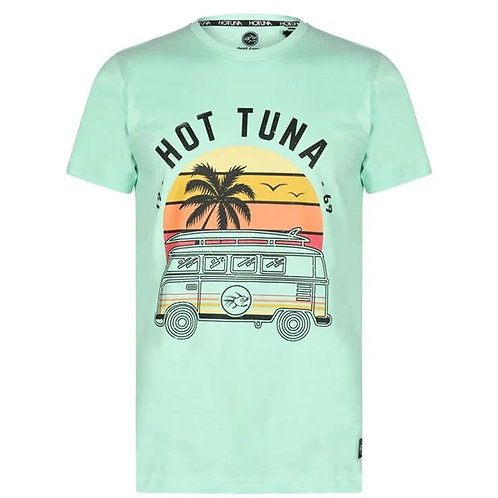 Hot Tuna Surf Camper Mint T Shirt