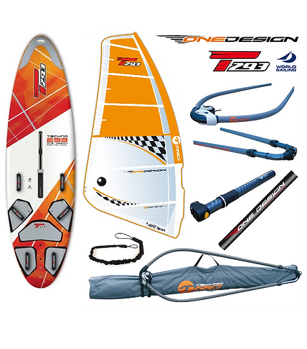 Bic Techno T293 V2 Board One Design 5.8 Complete Set V1 Rig