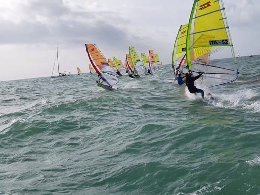 The Italian Techno 293 Class took part in its first national regatta last weekend.