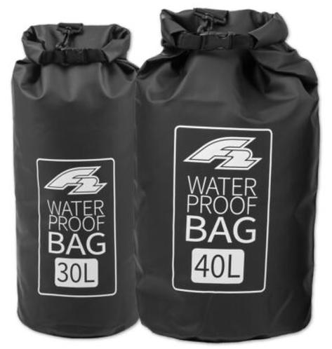 F2 Dry Bag Lagoon 30L Black - Waterproof Bag Packsack for SUP