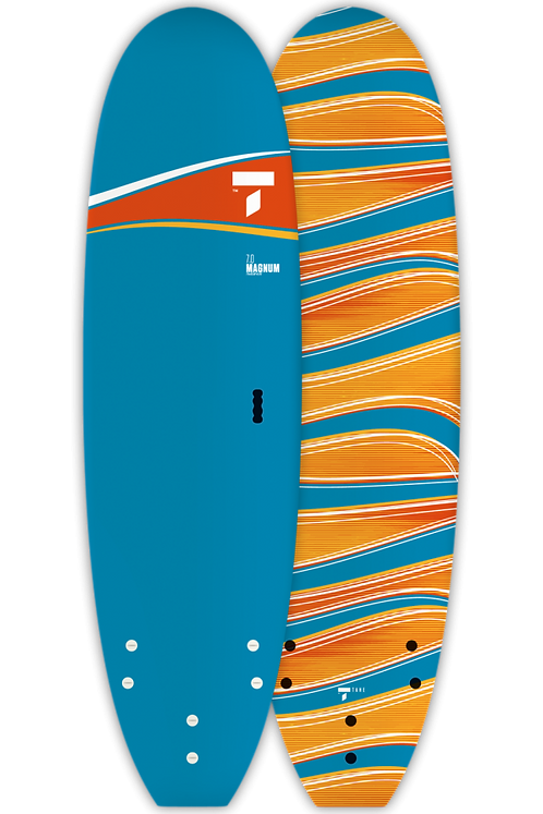 "Surf Board 7'0"" Tahe Surf Paint Magnum Surfboard"