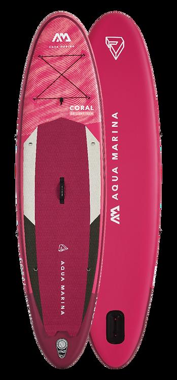 "SUP Paddle Board Aqua Marina Coral 31"""