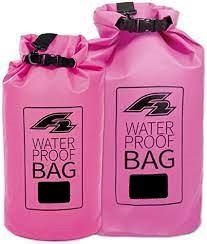 F2 Dry Bag Lagoon 15L Pink - Waterproof Bag Packsack for SUP