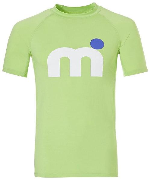 Mistral Orlando Rash Guard Green Short Sleeve Lycra