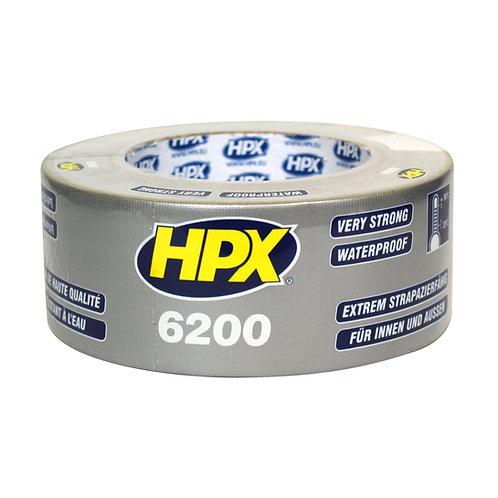 HPX Silver Waterproof UV Resistant Sail Repair Tape 48mm x 5m (Fabric Texture)