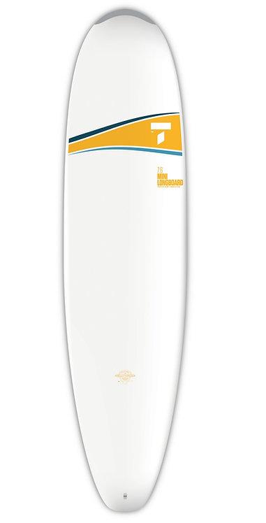 Tahe Surf Board Dura-Tec 7'6'' Mini Nose Rider
