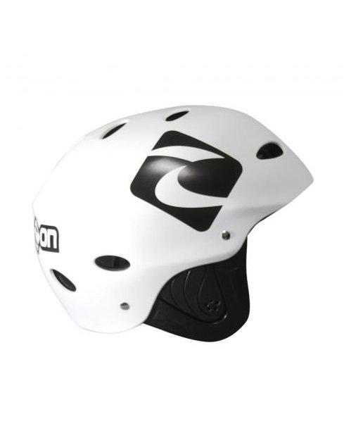 Side On Race Adjustable Helmet White