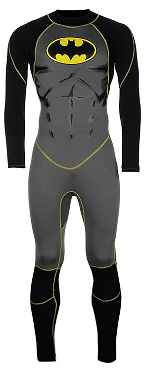 Batman Wetsuit Full 3/2 mm Back Zip
