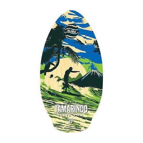 Skimboard SLIDZ 39 100cm Tamarindo Blue green