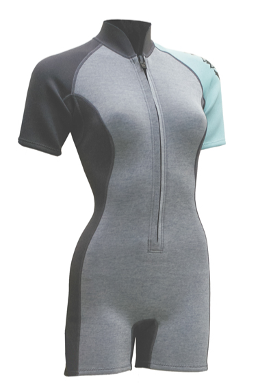 Ascan Wetsuit Ladies Shorty SUP 2/2 Wetsuit 1.5 mm