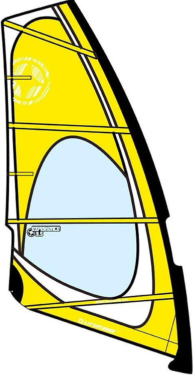 Unifiber Windsurf Sail Dacron/Mylar Experience Evo 3.5m2