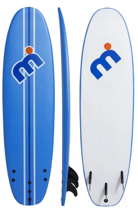 Mistral Soft Top Malibu Surfboard 7'0''/ 8'0'' / 9'0''