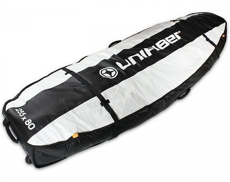 Unifiber Double Pro Boardbag 255x80 with XL wheels