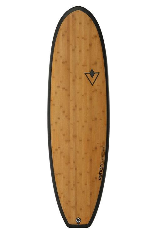 Venon Surfboard 6.4 Fat Pickle Bamboo