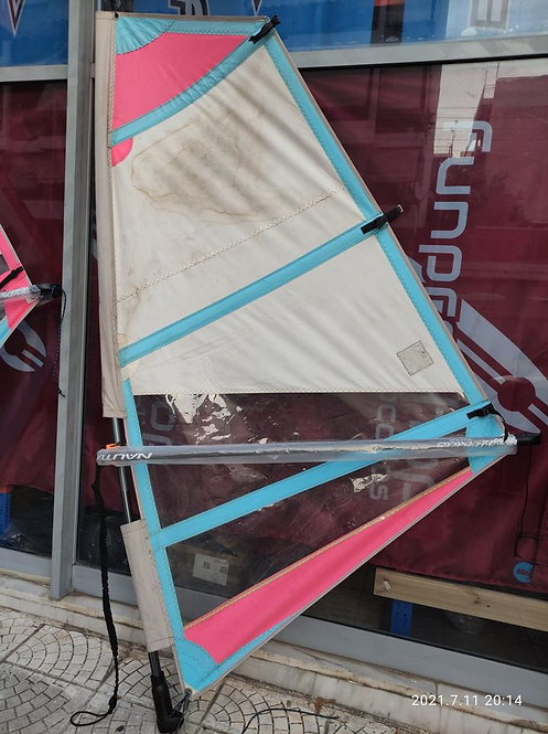Used Windsurf Rig 2.5m2 (Used Sail, New Boom, New Mast, New Cup, New Uphaul)