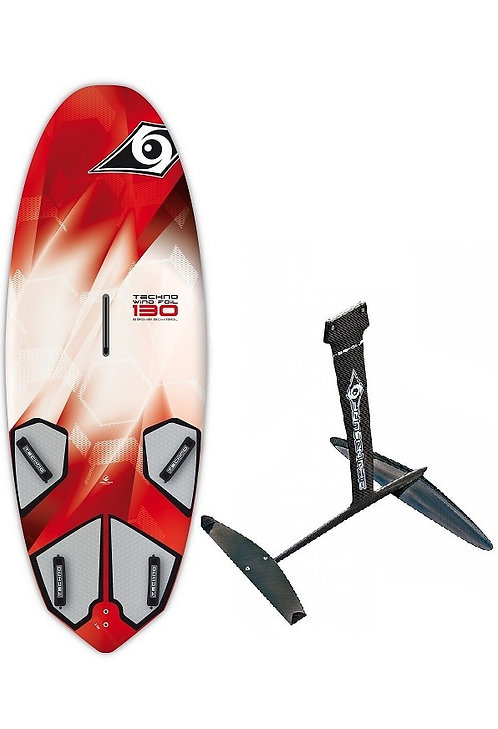 Techno Ace-Tec Windfoil - Windsurf Carbon Foil Complete Board