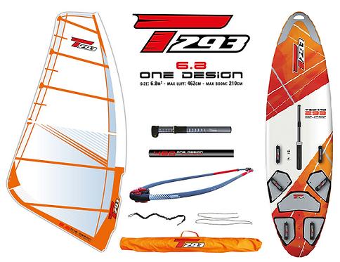 Bic Techno T293 V2 Board One Design 6.8 Complete Set V2 Rig