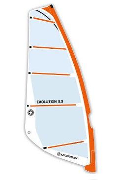 Unifiber Evolution Windsurf Sail Monofilm Freeride 5.5m2