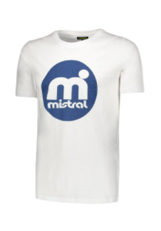 Mistral Retro Rounded Decal T Shirt