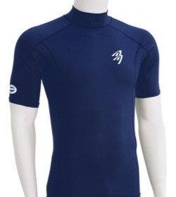 Ascan Rashguard Short Sleeve Blue
