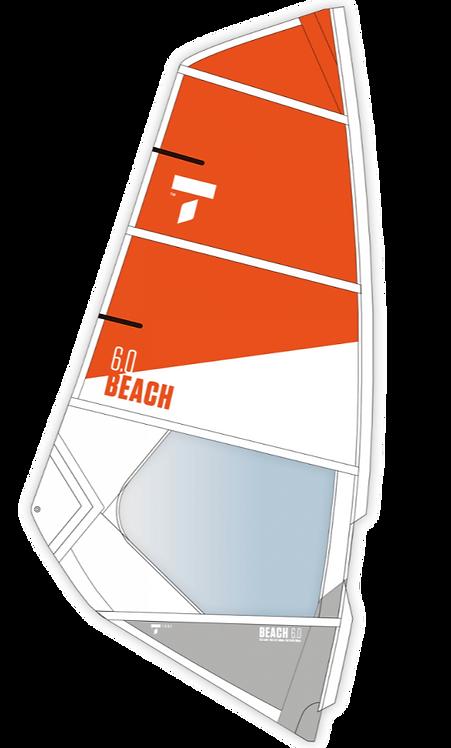 Tahe Beach Windsurf Dacron Sail 4.0m2 - 6.0 m2