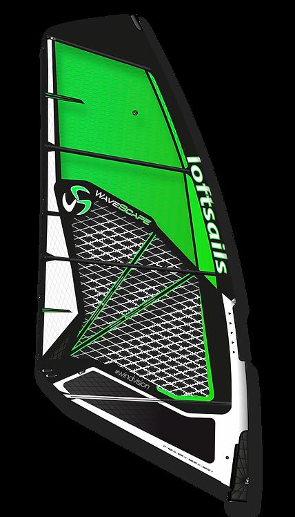 Loftsails Windsurf Sail Wavescape 2021 Green
